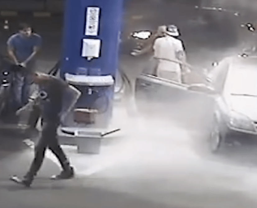 gas-station-smoker-fire-extinguisher
