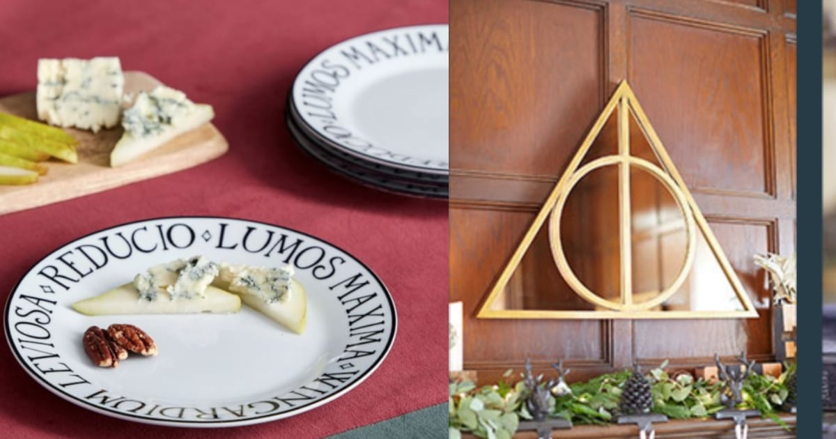 Tremendous Pottery Barn Releases Adorable Harry Potter Line Andrewgaddart Wooden Chair Designs For Living Room Andrewgaddartcom