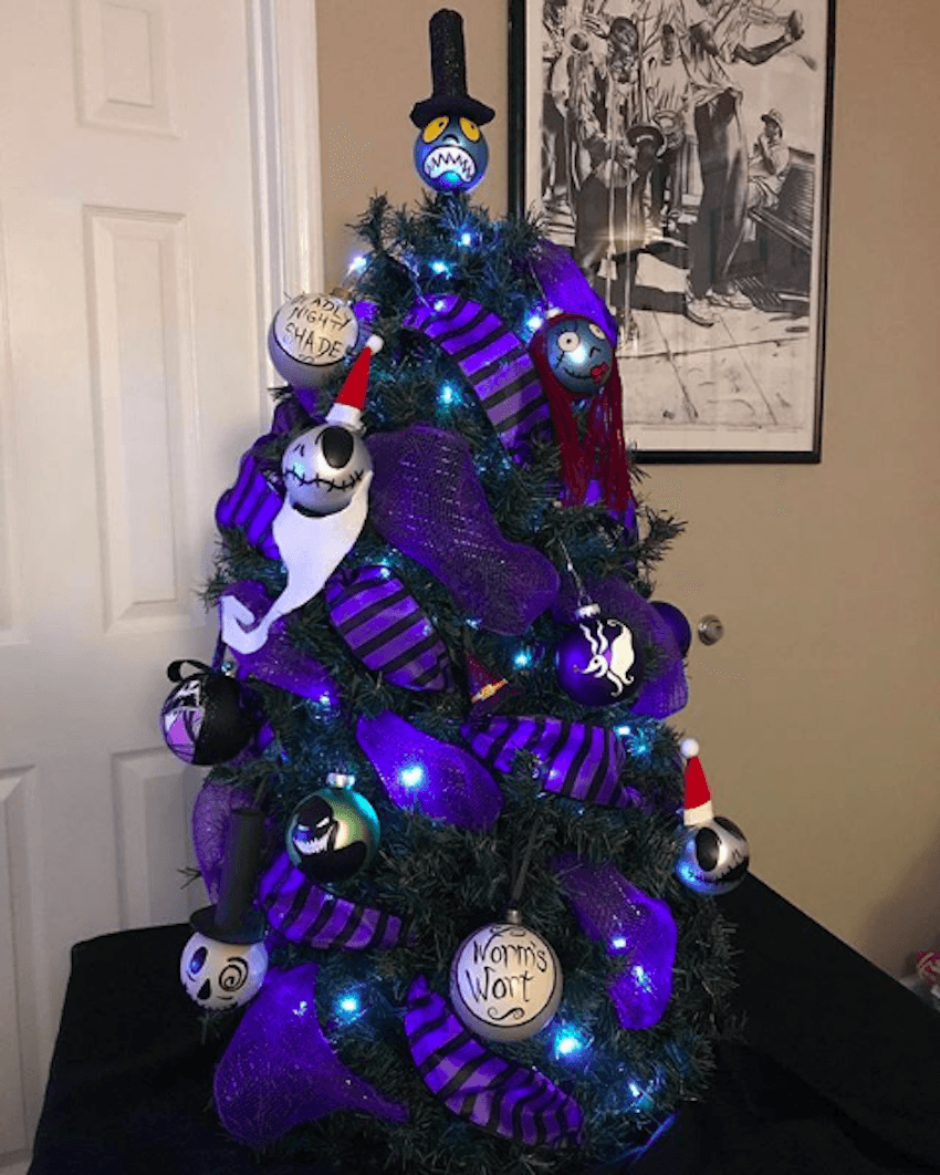 People Are Starting To Put Up Halloween Christmas Trees