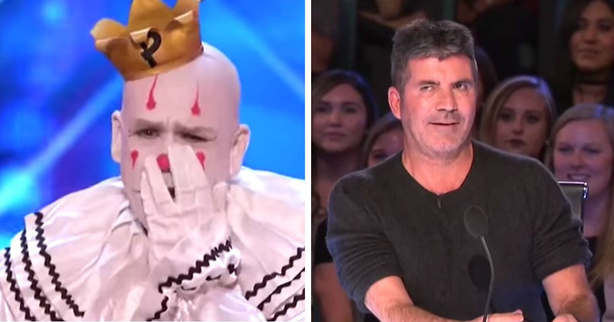 Sad Clown Cries On Stage, But Judges Can't Believe What Comes Out Of His Mouth