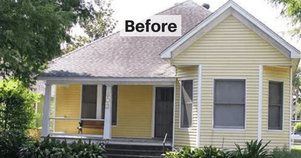 25 Home Exterior Makeovers That You Need To See