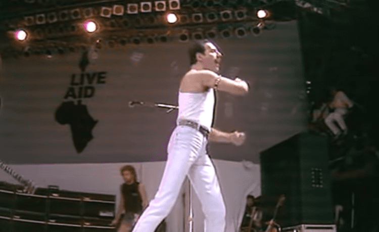 Queen's 21-Minute Performance At Live Aid In 1985