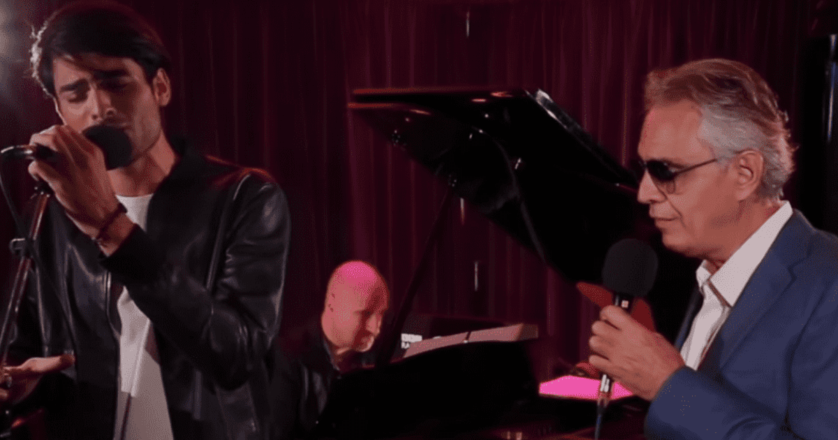 Andrea Bocelli And Handsome Son Sing Ed Sheeran Classic That Leaves The Internet Swooning
