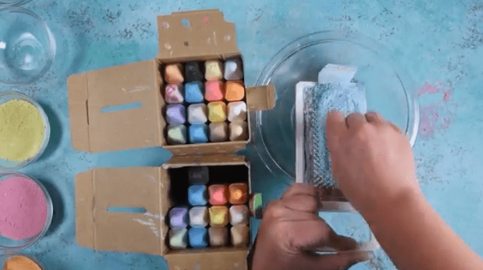 chalk-cheese-grater-DIY-sand-art