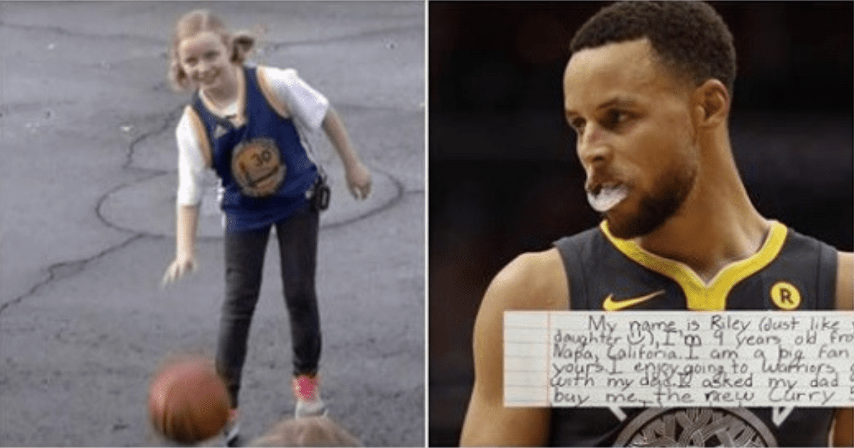 9-Year-Old Girl Asked Why Steph Curry's Shoes Aren't In