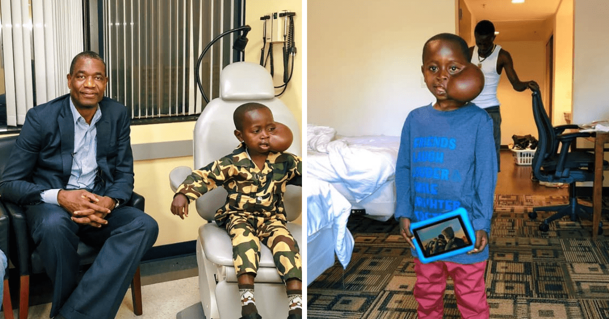 Young Boy Flown To US By Dikembe Mutombo To Have Tumor Removed Sadly Passes During Surgery