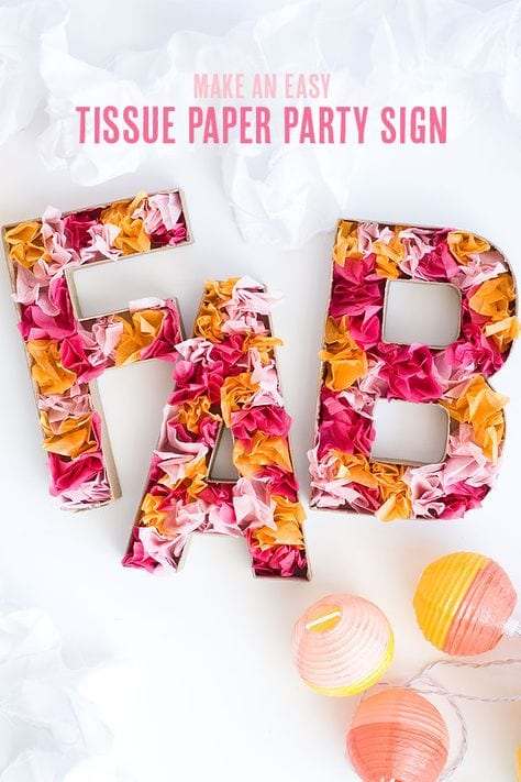 12 Fun Diy Projects With Tissue Paper