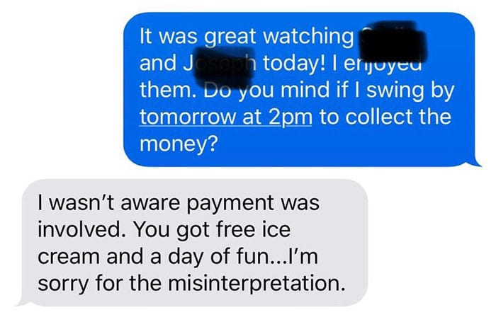 Mom Refuses To Pay Babysitter - Internet Explodes With Rage