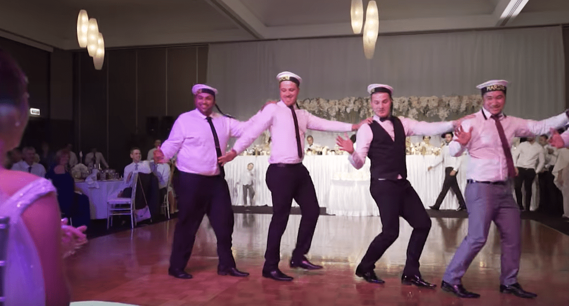 These Groomsmen Did The Funniest Dance We've Ever Seen