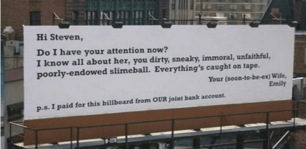 50 people who got revenge on their cheating ex-lovers