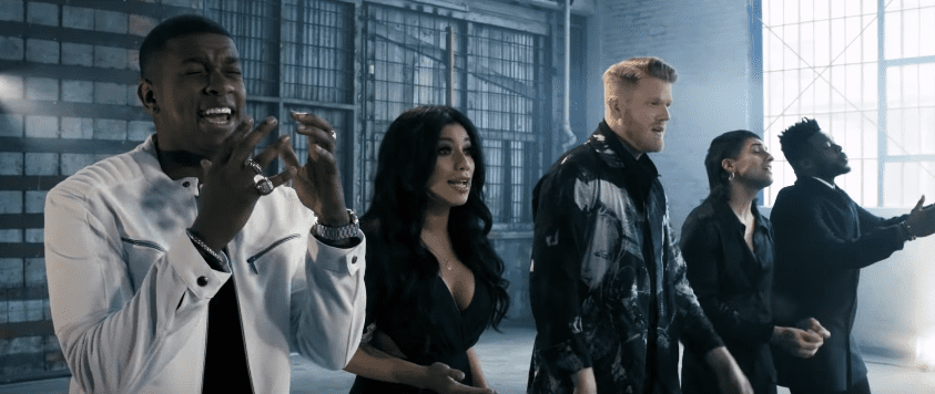 "Pentatonix makes ""Sound Of Silence"" their own and their take is"