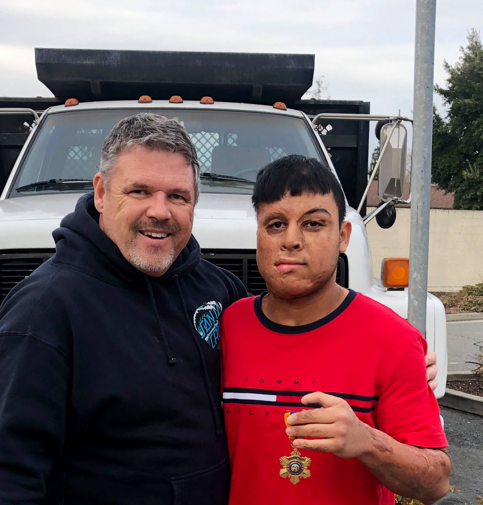 officer-reunited-scarred-teen-flores-thorp