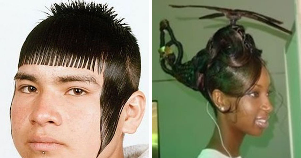 55 haircuts that are so bad they\u0027re almost good