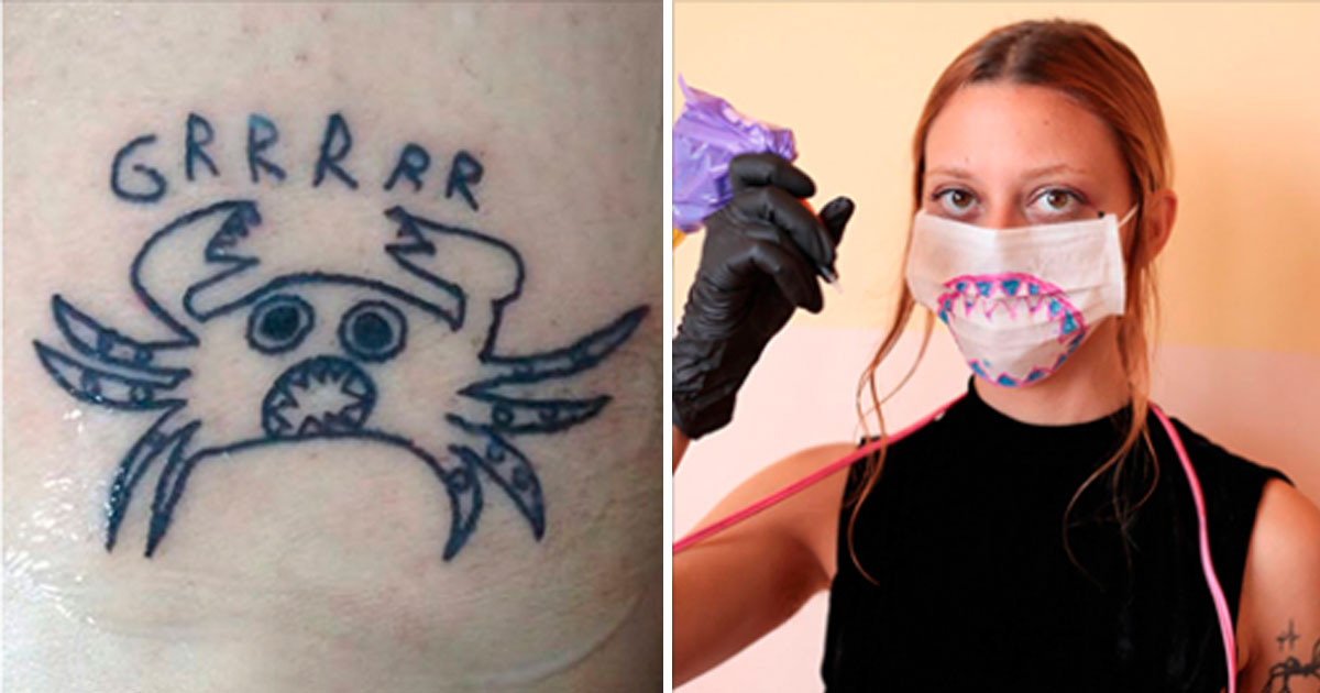 44289cec3 This Tattoo Artist's Quirky Style is Exactly Why Her Clients Love ...