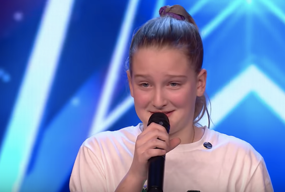 Little Girl Gets Golden Buzzer For Her Amazing Original Song