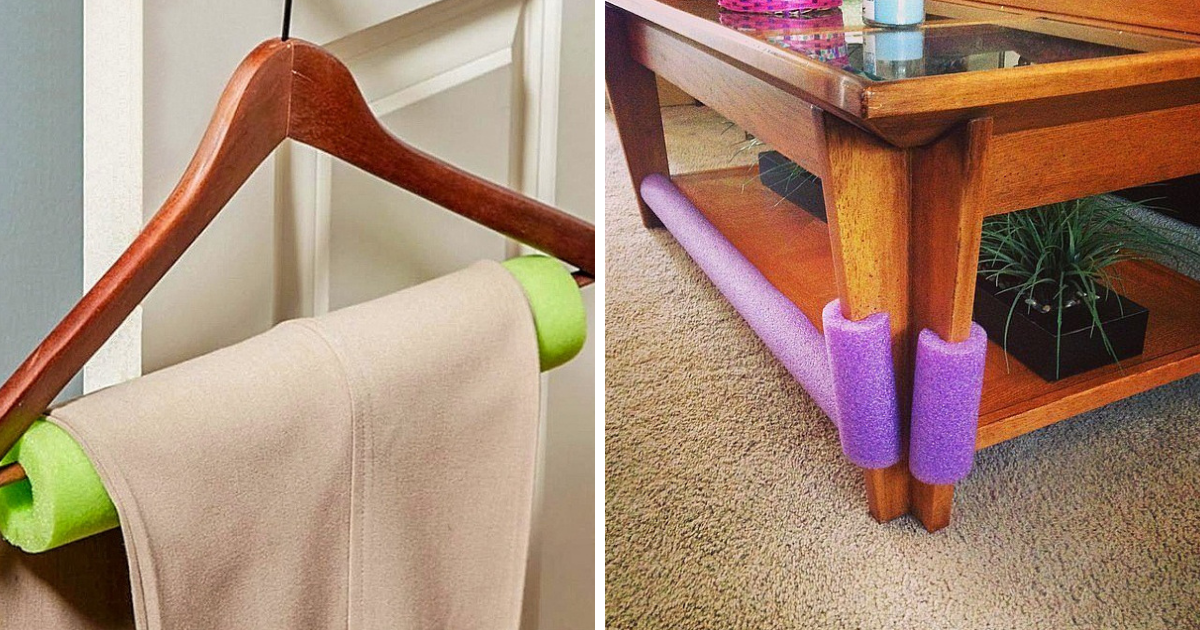 50 Clever Uses For Pool Noodles