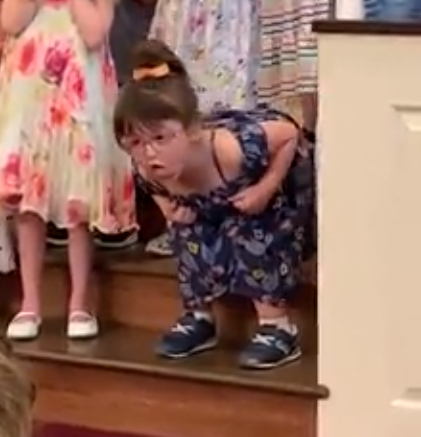 Dancing 5-Year-Old Steals Show At Pre-School Graduation