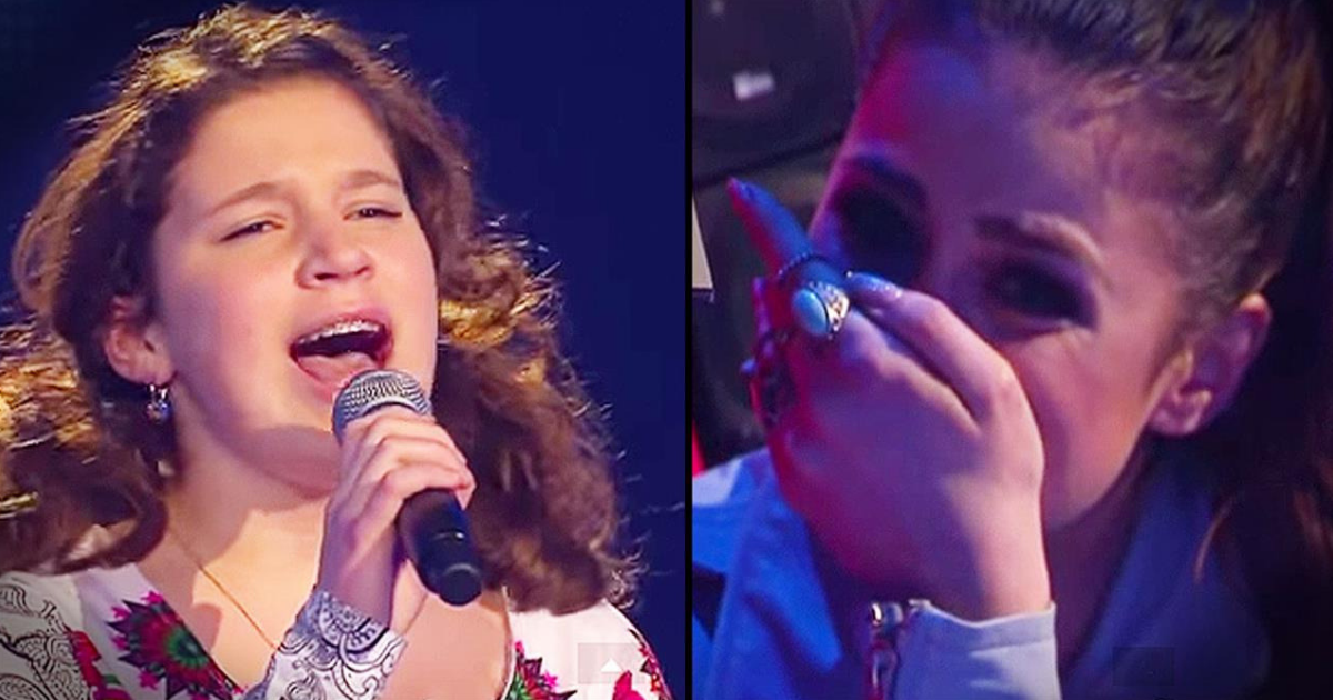 Little girl brings judges to tears when she starts singing