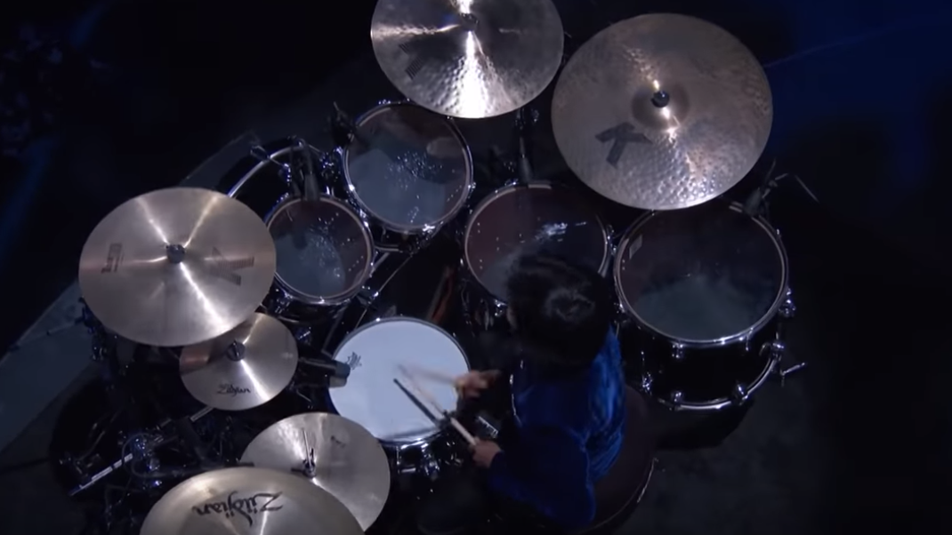 This Little Boy Nails A Piano And Drum Solo In The Same Show