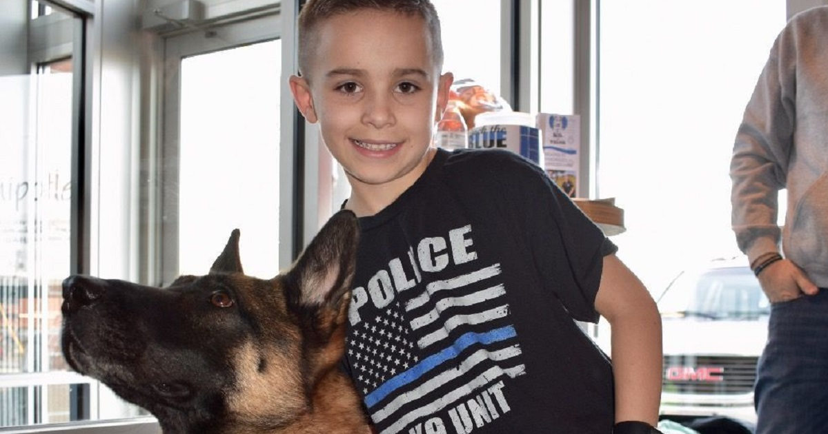 Third Grader Raises More Than $75K For K9 Protective Vests
