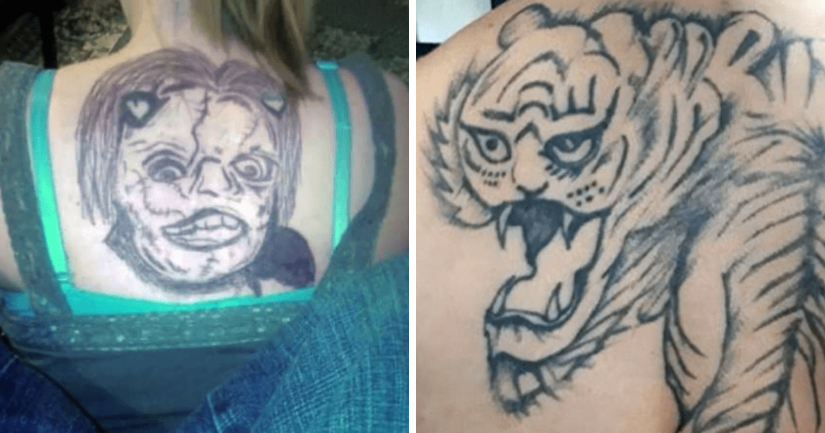 50 Tattoo Fails That Are So Bad Theyre Impossible Not To