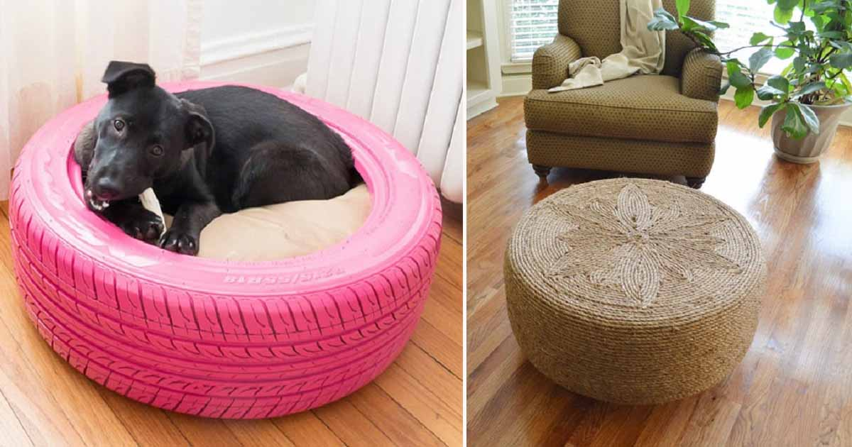 50 Clever Diy Ways To Reuse Old Tires