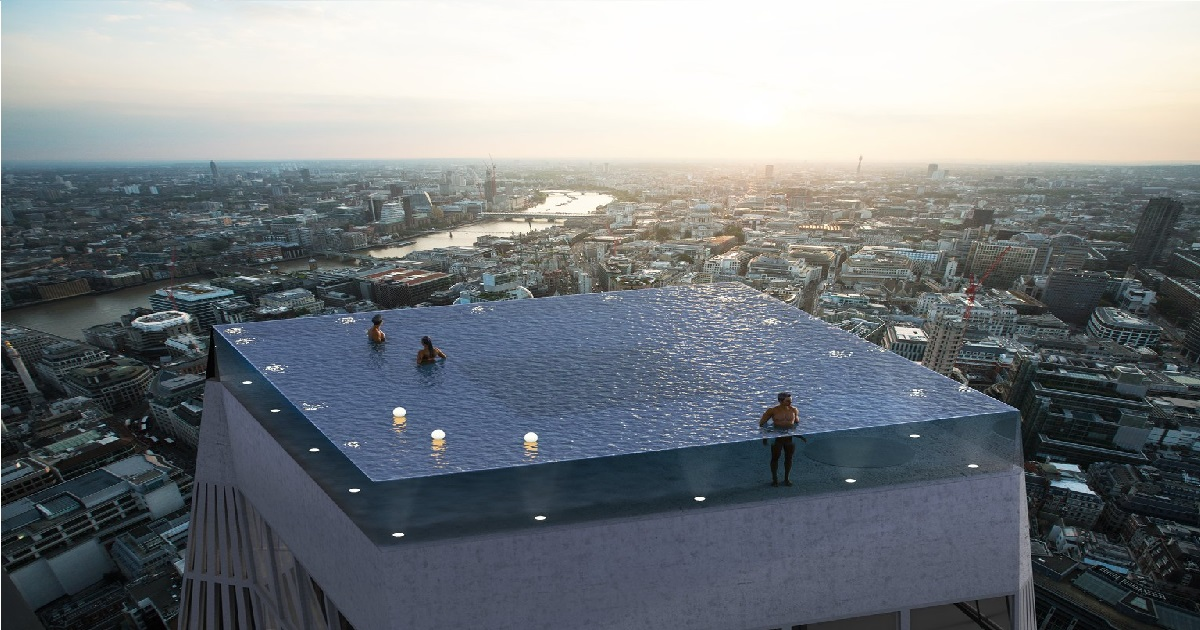 First Infinity Pool With 360 Degree Views To Be Built On