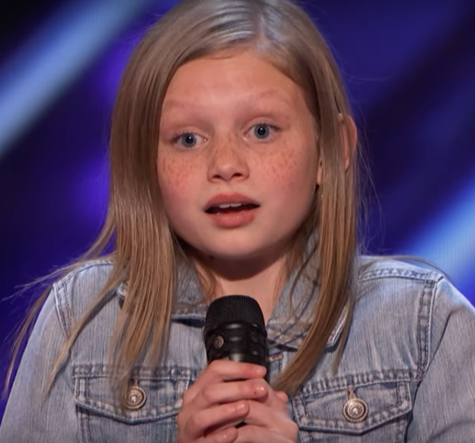 Simon Asks 12-Year-Old Girl To Redo Her Audition Acapella
