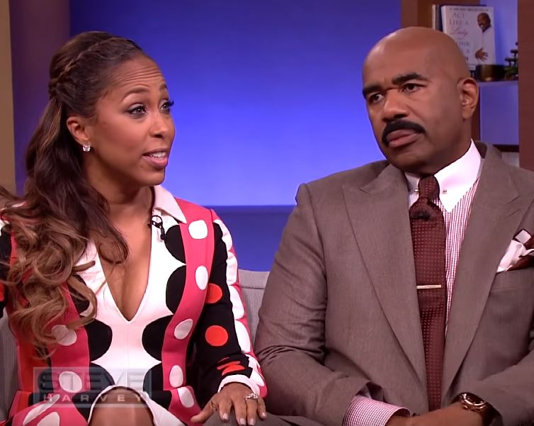 Steve Harvey's Wife Calls In Dr  Phil For Help Managing Her