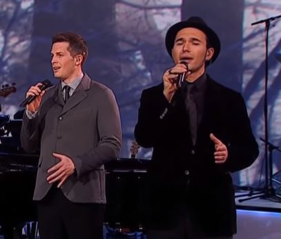 Young Teen Sings Breath Stealing Classic With Four Handsome Men
