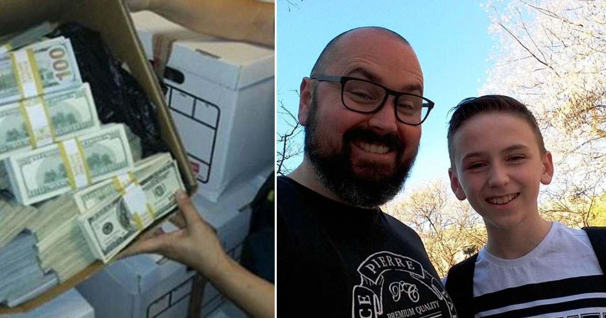 Scammer tells man he won $1.2M but needs to pay for delivery, so many 'delivers' prank to him