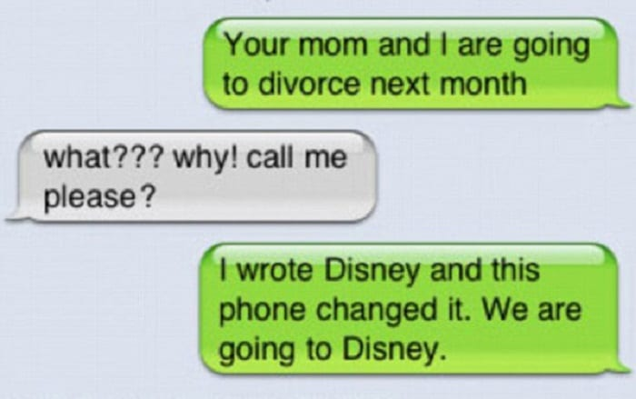 50 Priceless Parenting Texts Everyone Can Laugh About