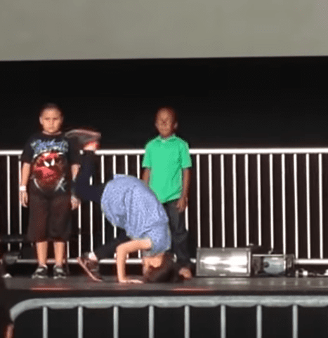 Little Boy Steals The Show With His Incredible Freestyle Moves