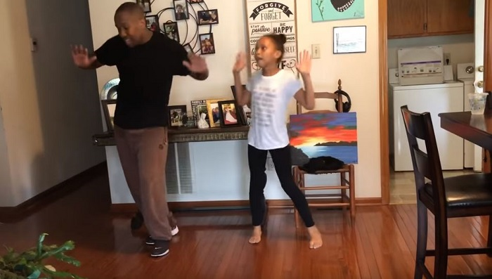 Dad And Daughter Win Internet With Dance Challenge