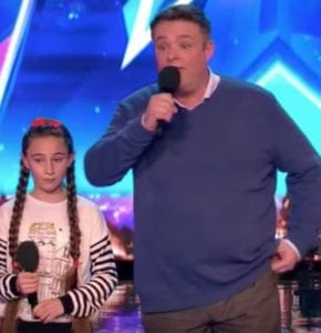 Father And Daughter Sing Opera Duet On Britain S Got Talent