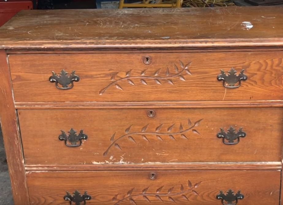 Turn An Old Dresser Into A Beautiful