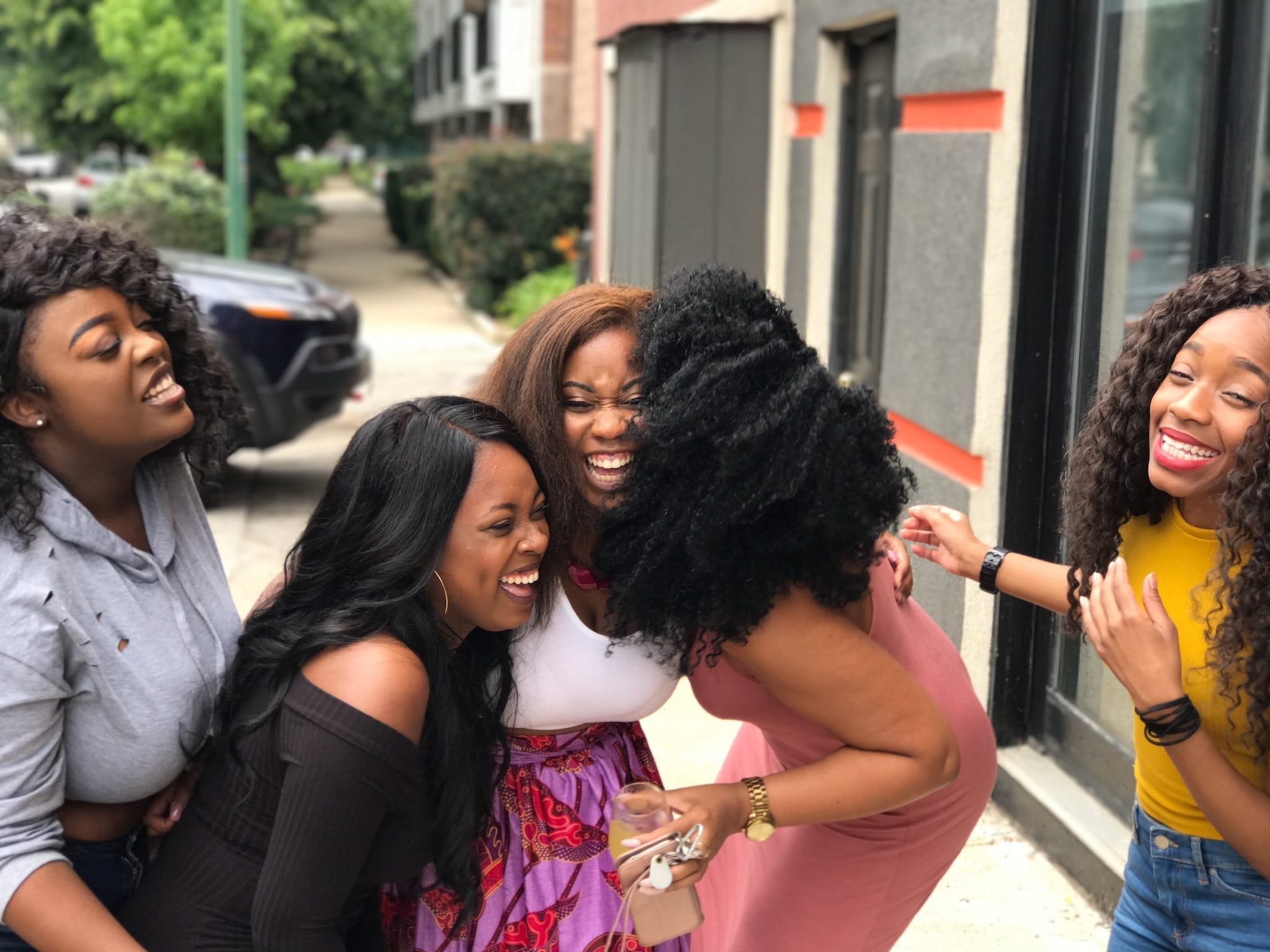 https://www.pexels.com/photo/five-women-laughing-936048/