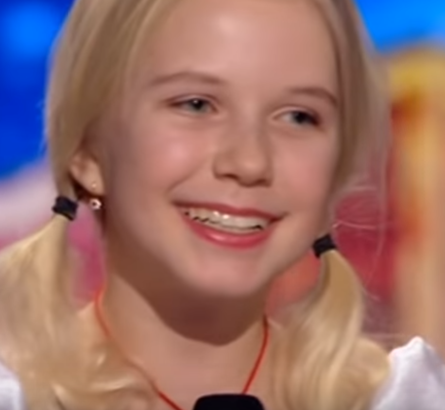 Young Yodeling Girl Wins Crowd On 'Ukraine's Got Talent