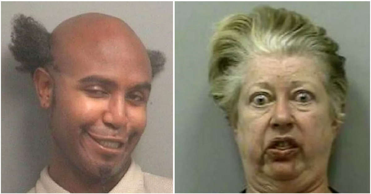 Weird Mugshot Photos 7