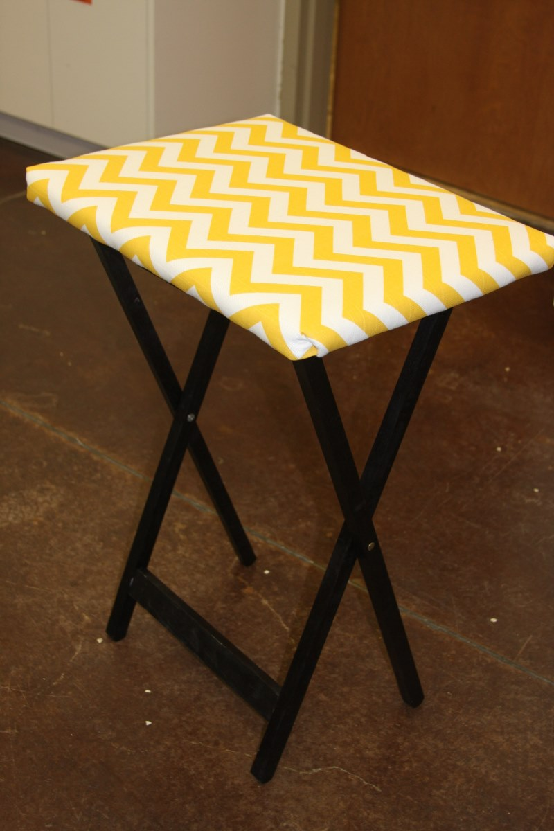 How To Transform An Old Tv Tray Table Into A Beautiful New Piece For Your Home