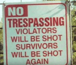 Trespassing_Warning