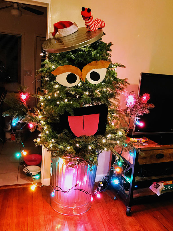 50 Unconventional Christmas Tree Ideas That Are Incredibly