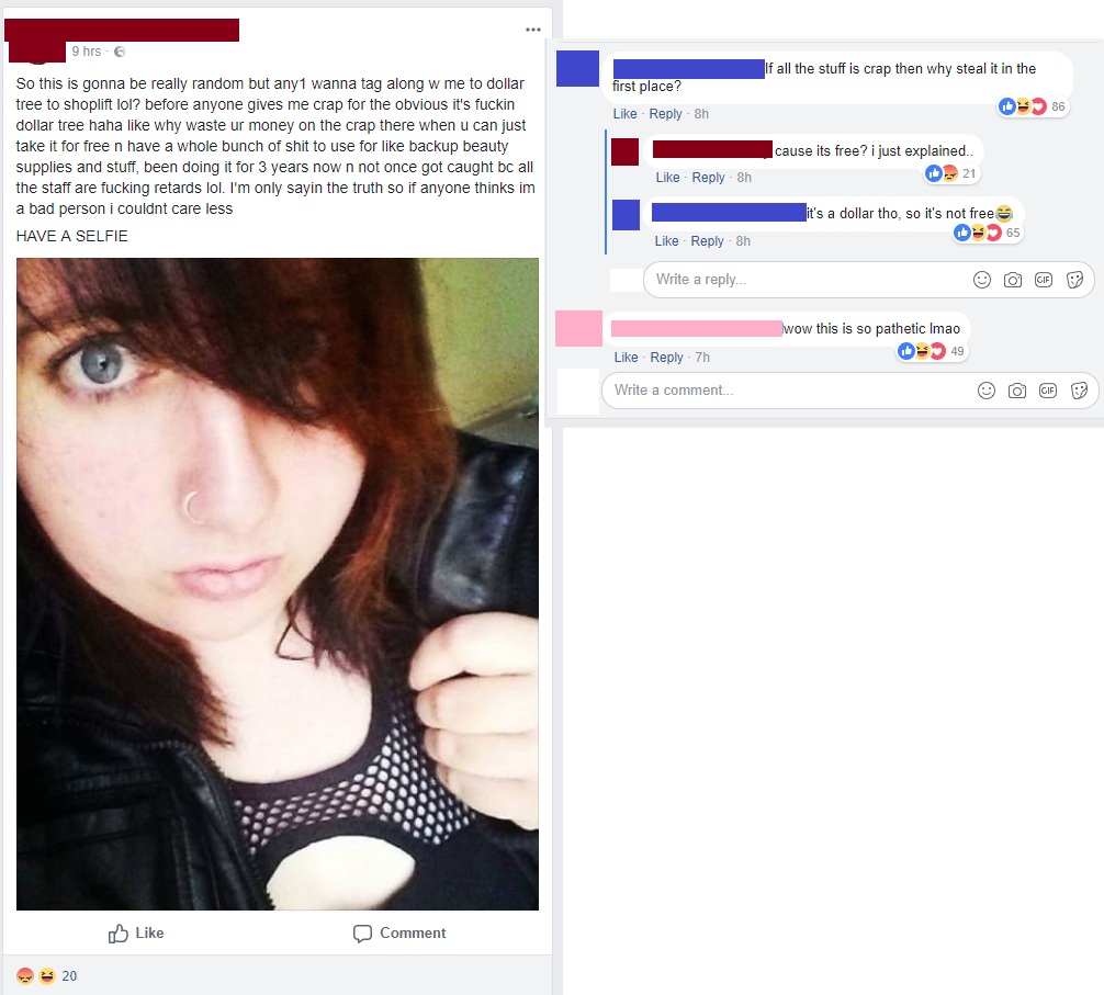 https://www.reddit.com/r/trashy/comments/7uvyky/girl_wants_some_company_to_go_steal_from_the/