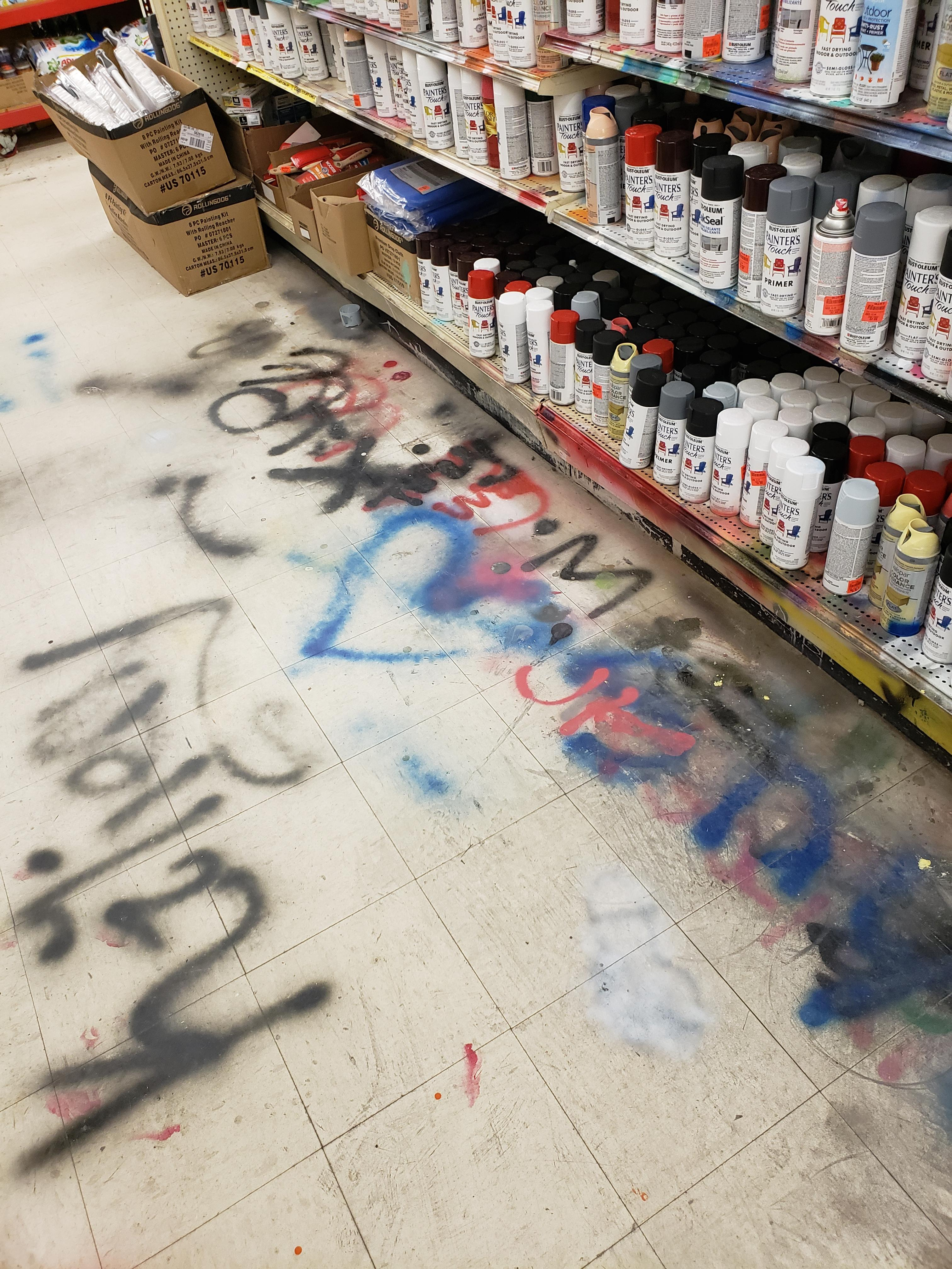https://old.reddit.com/r/trashy/comments/ba4w7d/people_testing_spray_paint_at_ollies/?st=k158jvu3&sh=4811a3fa