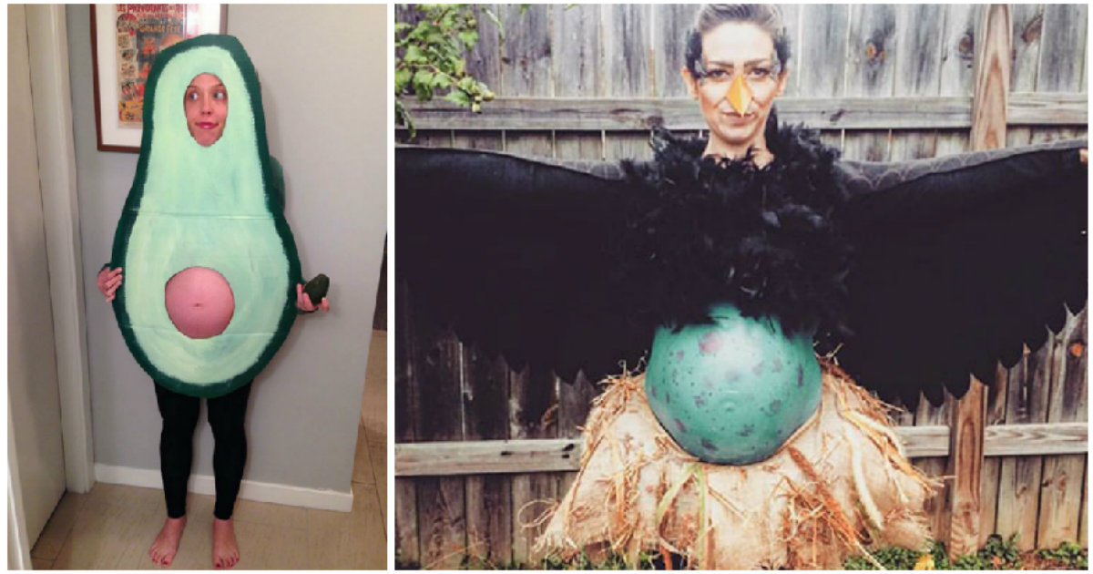 50 Pregnant Women Who Crushed Halloween With Their Creative Costumes