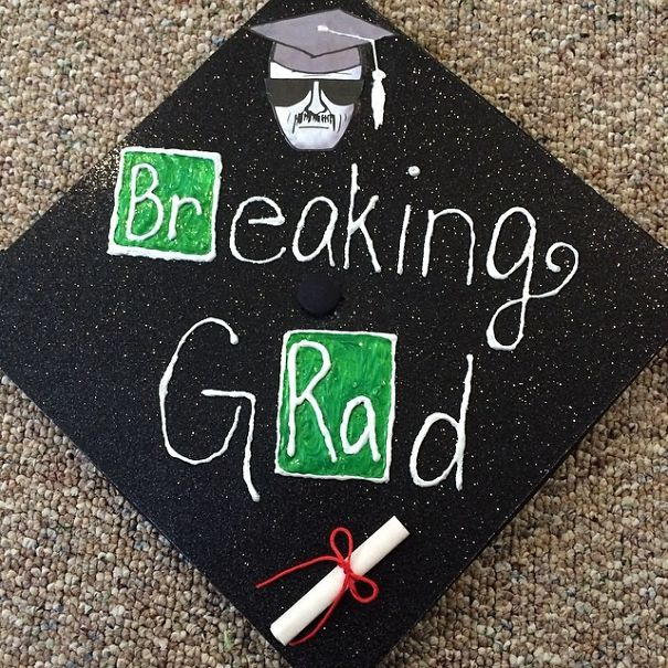 50 Hilariously Clever Graduation Caps That Are Hard To Beat