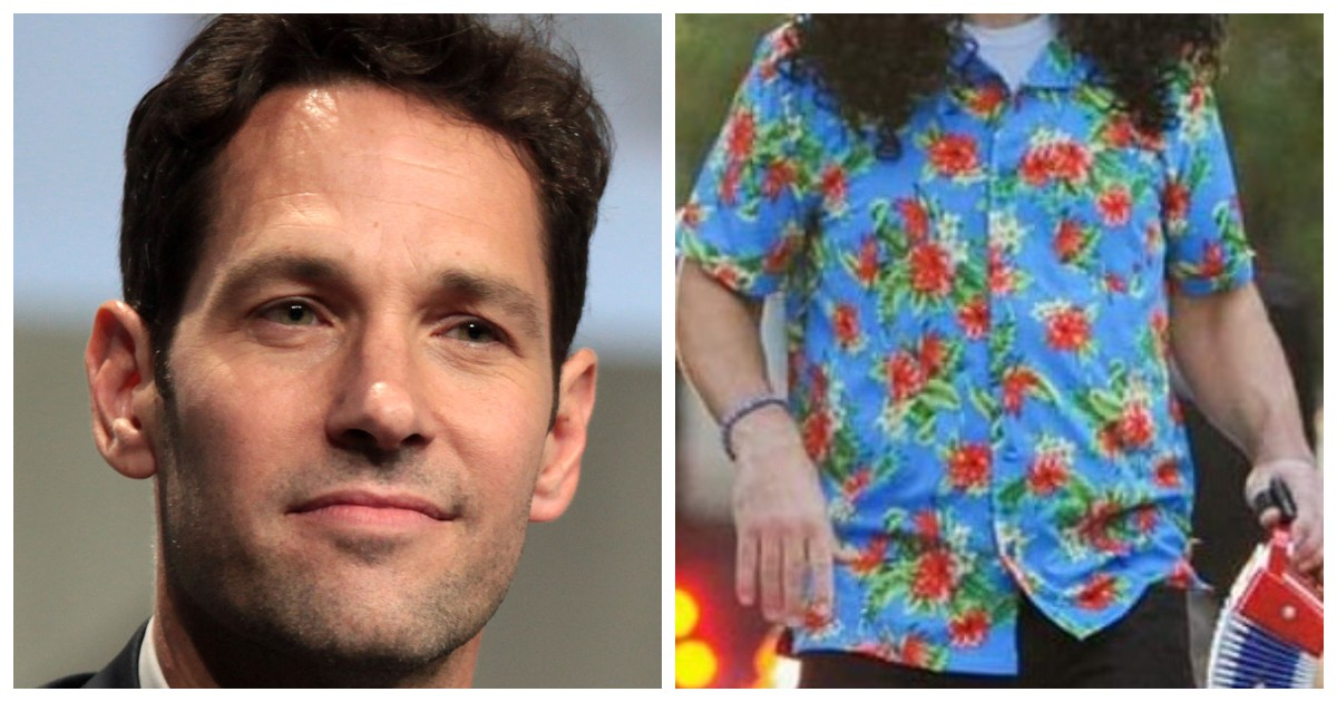 Weird Al Responded To Photos Of Paul Rudd Dressed As Weird Al For Halloween