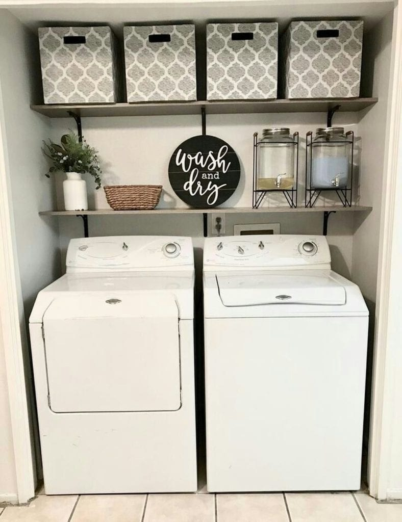 50 Small Laundry Room Designs To Give You The Big Space You Need