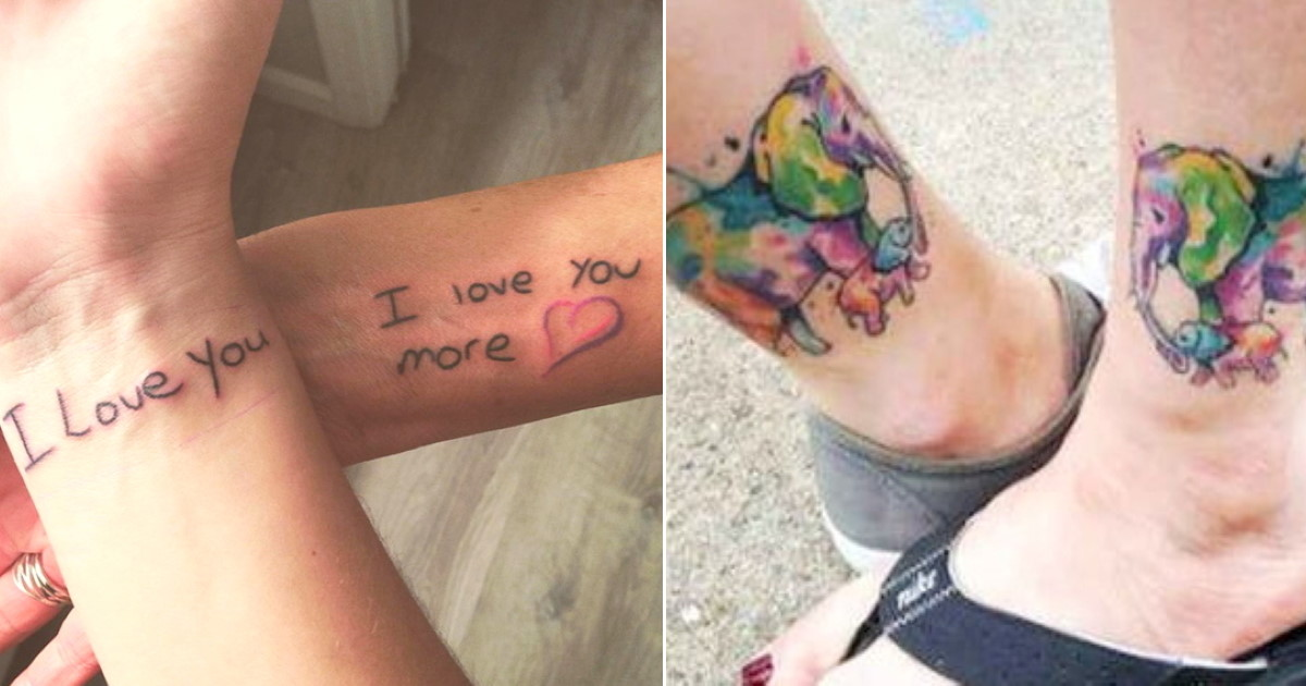 75 Creative Tattoos Daughters Can Get With Their Mothers