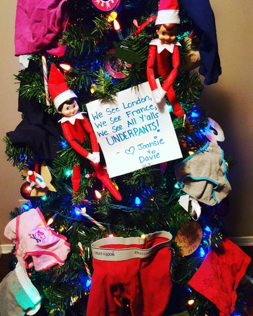 65 Hilariously Creative Elf On The Shelf Ideas That Are Both